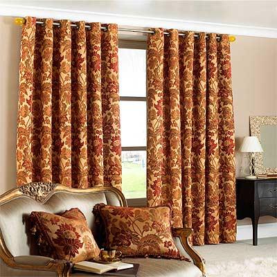 Cream curtains 90x90