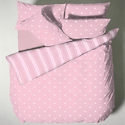 richmond house polka dot duvet cover set ebay. Black Bedroom Furniture Sets. Home Design Ideas