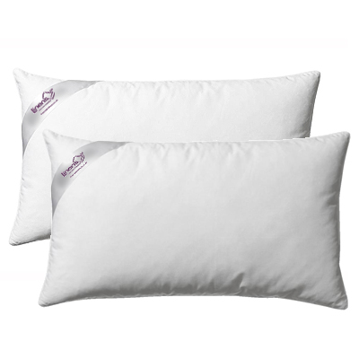 Linens Limited **Special Offer** Duck Feather And Down Pillows, Pair