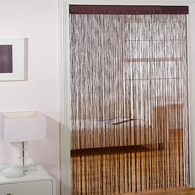 Majorca String Door Curtain Panel 90 X 200 Cm Ebay