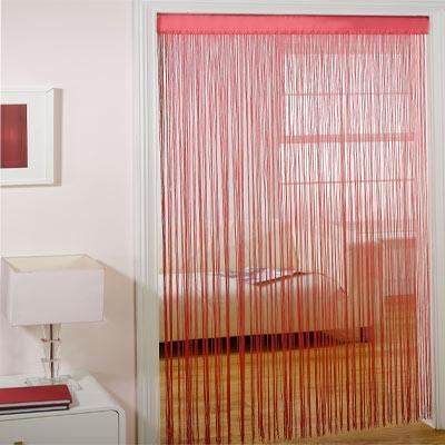 rideau de porte majorca cerise 90 x 200 cm enlarged preview. Black Bedroom Furniture Sets. Home Design Ideas