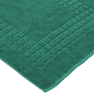 tapis de bain supreme en coton gyptien 500 g m vert fonc ebay. Black Bedroom Furniture Sets. Home Design Ideas