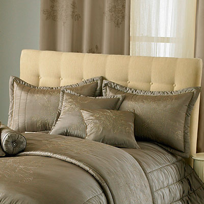 housse de coussin chic taupe 45 x 45 cm ebay. Black Bedroom Furniture Sets. Home Design Ideas