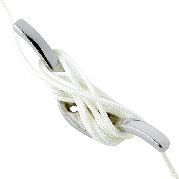 Speedy Corded Aluminium Roman Blind Kit Satin Silver Ebay