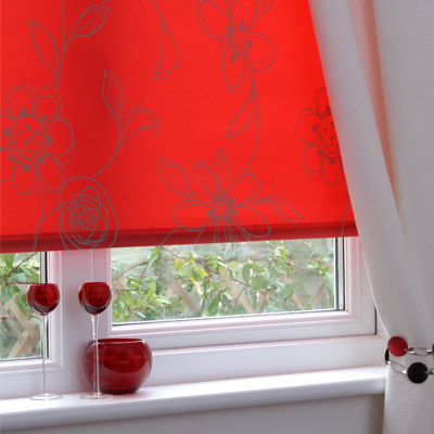 Sunlover Accents Patterned Thermal Roller Blind Ebay