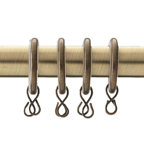 Swish 19mm Curtain Pole Rings