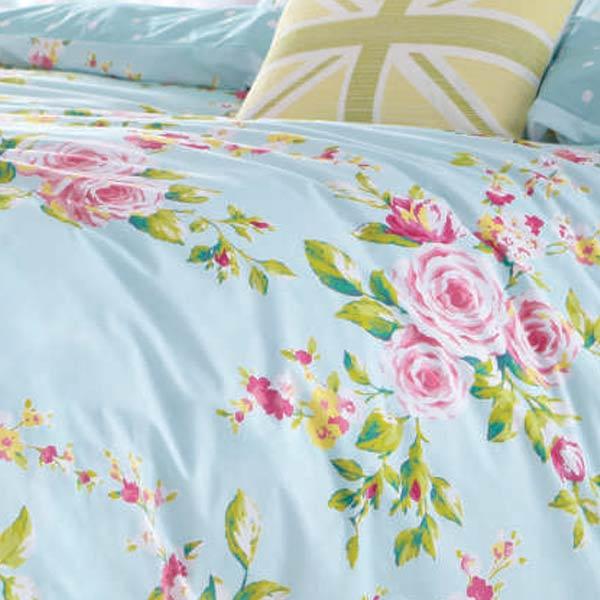 Catherine Lansfield Signature Canterbury Floral Duvet Cover Set