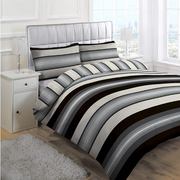 Linens Limited Retro Stripe Duvet Cover Set Ebay