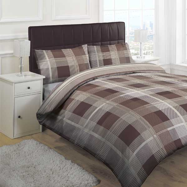 Wake In Cloud - Washed Cotton Duvet Cover Set, Buffalo Check Gingham Plaid Geometric Checker Pattern Printed in Gray Grey and White, % Cotton Bedding, with Zipper Closure (3pcs, King Size) by Wake In Cloud. $ $ 54 99 Prime. FREE Shipping on eligible orders. Only 3 left in stock - order soon.