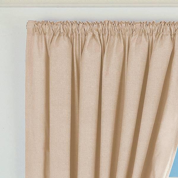 verdunkelungsvorh nge norfolk mit kr uselband beige. Black Bedroom Furniture Sets. Home Design Ideas
