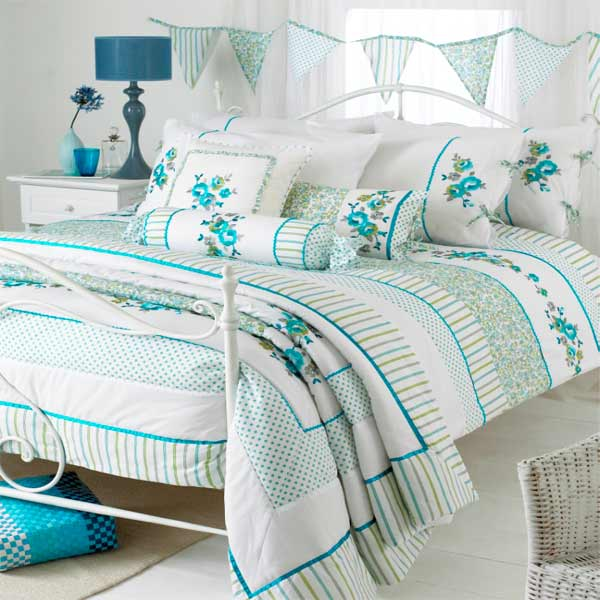 riva home appleby romany floral duvet cover set ebay. Black Bedroom Furniture Sets. Home Design Ideas