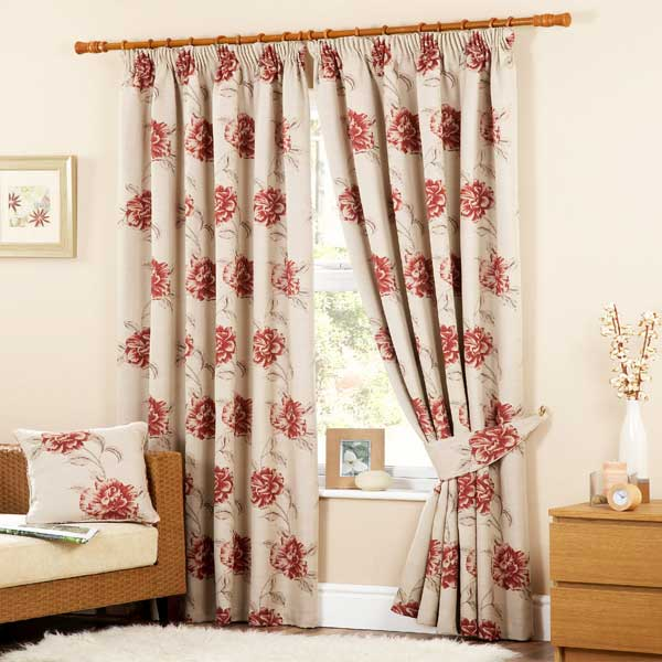 Red Curtains beige red curtains : Beige And Red Curtains - Best Curtains 2017