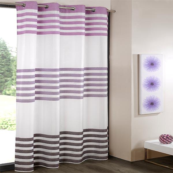 Benetton Chenille Voile Eyelet Curtain Panel | eBay