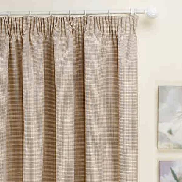 Kent Thermal Pencil Pleat Lined Door Curtain Panel 66 X 84 Inch EBay