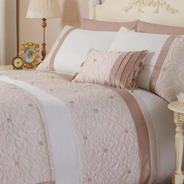 Catherine lansfield hogar lois floral de cubierta de edred n de seda de imitaci n ebay - Edredon de seda ...