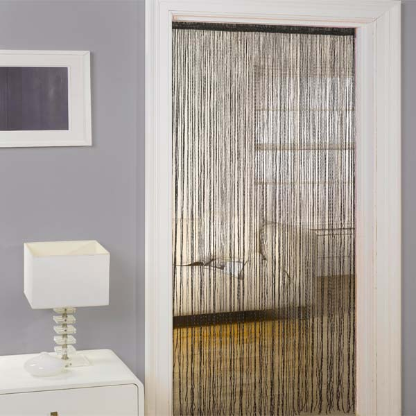 Emma-Barclay-Lifestyle-Seville-String-Door-Curtain-Panel- & String Door \u0026 String Curtain Panel White Net Window Door Fly ... Pezcame.Com