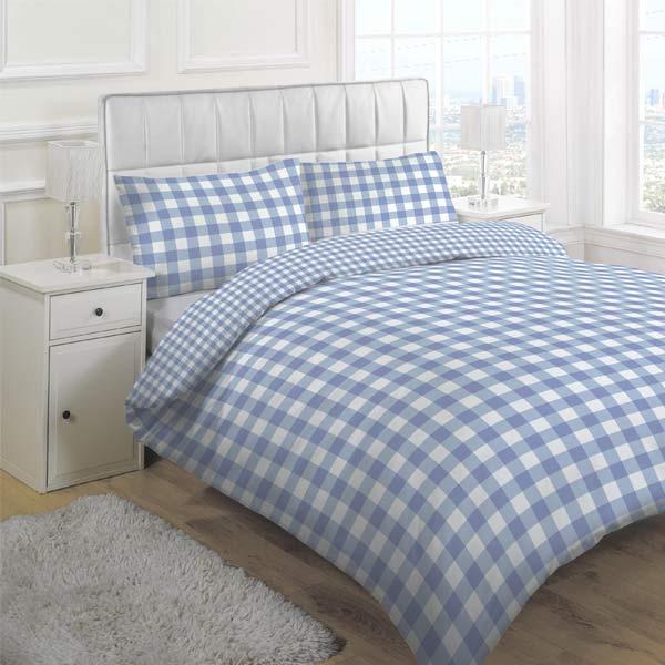 Linens Limited Large Tonal Gingham Duvet Cover Set - Ebay ...