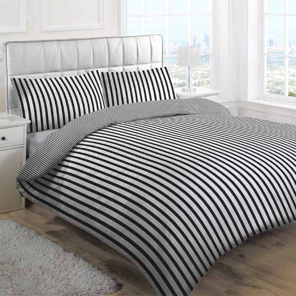 Linens Limited Tik Stripe Duvet Cover Set Ebay Daily