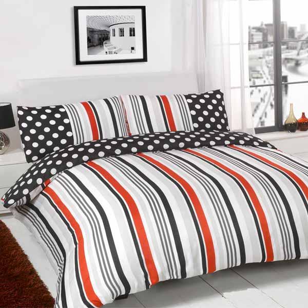 Sugar Stripe Duvet Cover Set