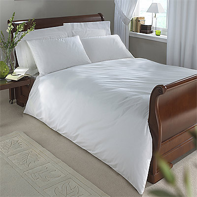 bettdeckenbezug sestina baumwolle wei super king extragro ebay. Black Bedroom Furniture Sets. Home Design Ideas