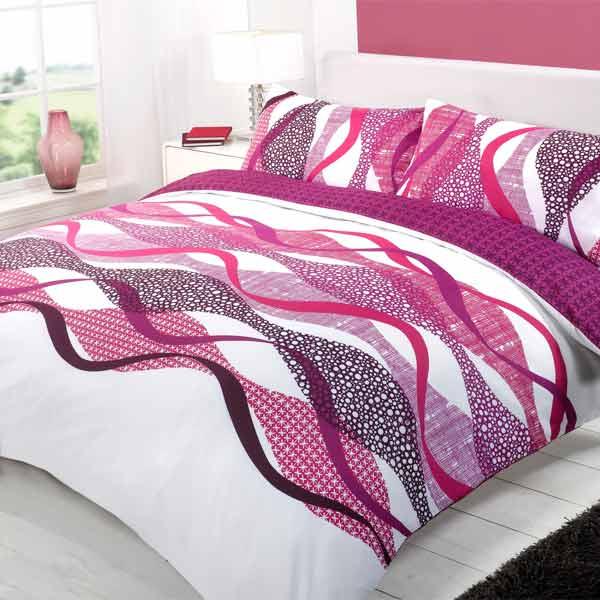 baxter duvet cover set purple king ebay. Black Bedroom Furniture Sets. Home Design Ideas