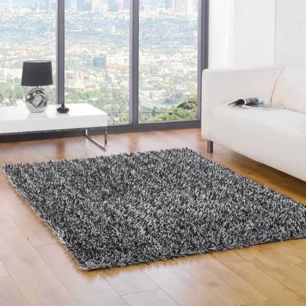 Details About Flair Rugs Spider Shaggy Rug