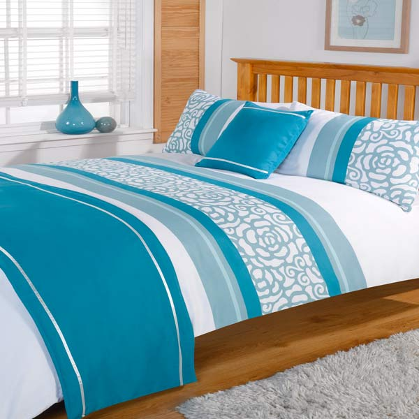 Lorenza bed in a bag ebay Teal bedding sets