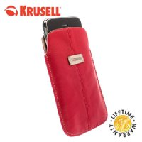 View Item Krusell Luna Universal Phone Pouch - Large - Red