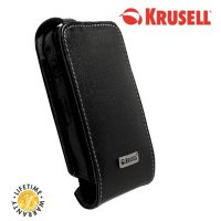 View Item Krusell Obit Flex Leather Case for Blackberry Curve 8520