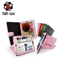 View Item Tuff-Luv Bi-Axis Faux Leather case cover for Apple iPad & 3G / Wifi - Pink