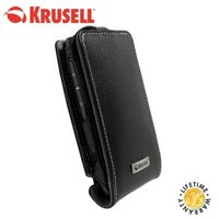 View Item Krusell Orbit Flex Leather Case For Nokia N8 - Black