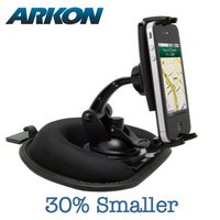 View Item Arkon Mini Car Friction Dash Mount Kit for Apple iPhone 4