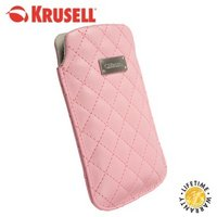 View Item Krusell Coco Universal Diamond Quilted leather Phone Case - Large - Pink