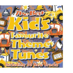 The best kids favourite theme tunes cd new sealed