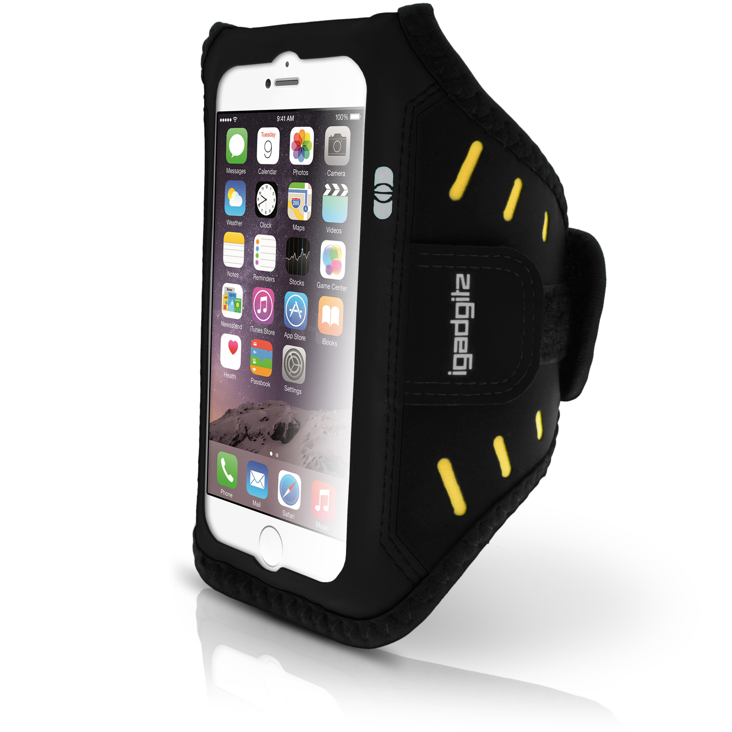 fitness sports armband for apple iphone 6 6s 4 7 running jogging gym cover ebay. Black Bedroom Furniture Sets. Home Design Ideas