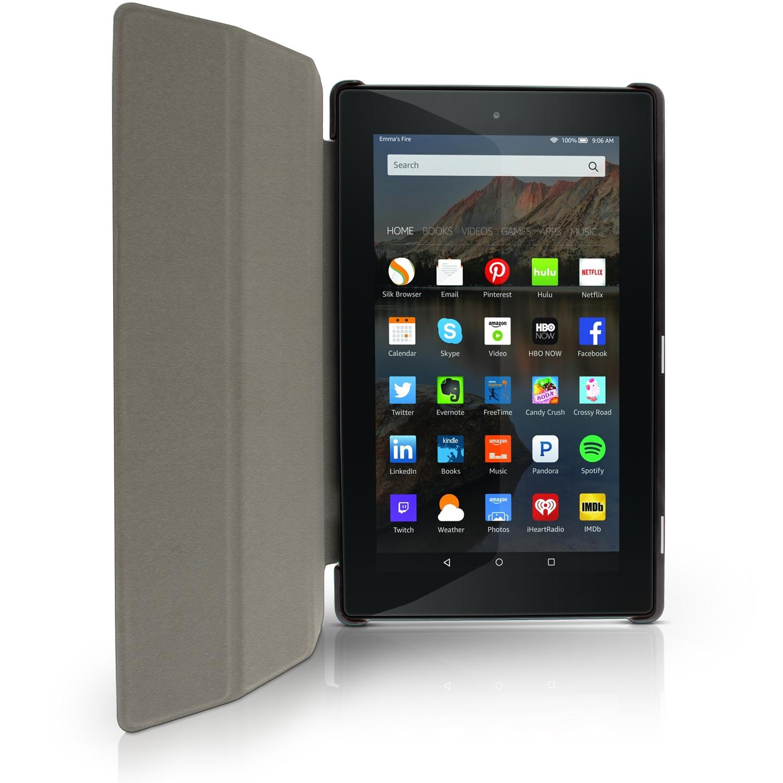 Pu cuero funda smart cover para amazon fire 7 tablet for Amazon casa