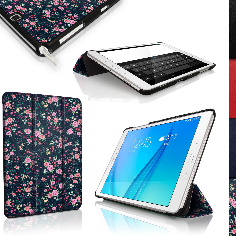 Pu cuero funda smart cover para samsung galaxy tab a 9 7 t550 carcasa case piel ebay - Funda samsung galaxy tab ...