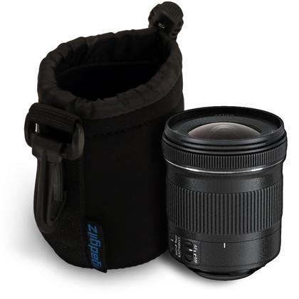 iGadgitz Small Drawstring Neoprene Lens Protector Sleeve Pouch Bag Cover for SLR DSLR Camera Lenses Thumbnail 3