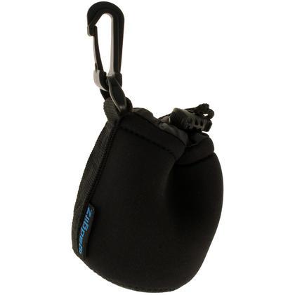iGadgitz Small Drawstring Neoprene Lens Protector Sleeve Pouch Bag Cover for SLR DSLR Camera Lenses Thumbnail 1