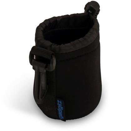 iGadgitz Small Drawstring Neoprene Lens Protector Sleeve Pouch Bag Cover for SLR DSLR Camera Lenses Thumbnail 2