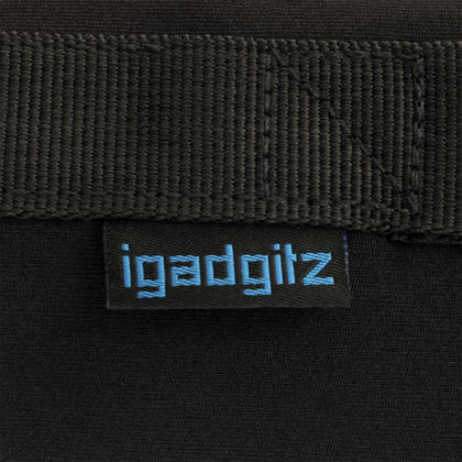iGadgitz Large Drawstring Neoprene Lens Protector Sleeve Pouch Bag + Carry Handle/ Belt Loop for SLR DSLR Camera Lenses Thumbnail 5