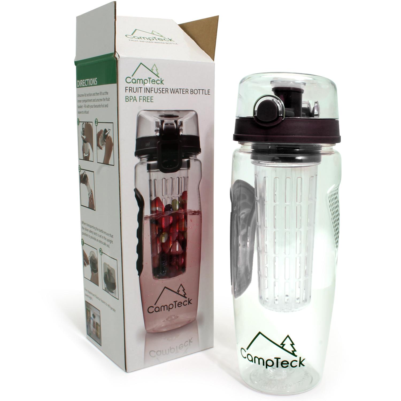 1000ml fruit infusing infuser water bottle bpa free plastic sports detox health ebay
