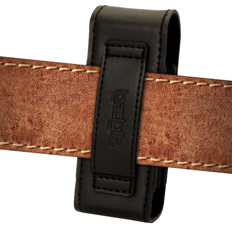 Schwarz Echt Leder Tasche Etui H 252 Lle F 252 R Schweizer