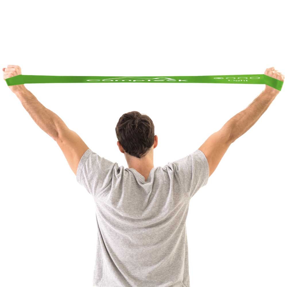 Pack Of 4 Resistance Loop Exercise Bands Workout Fitness