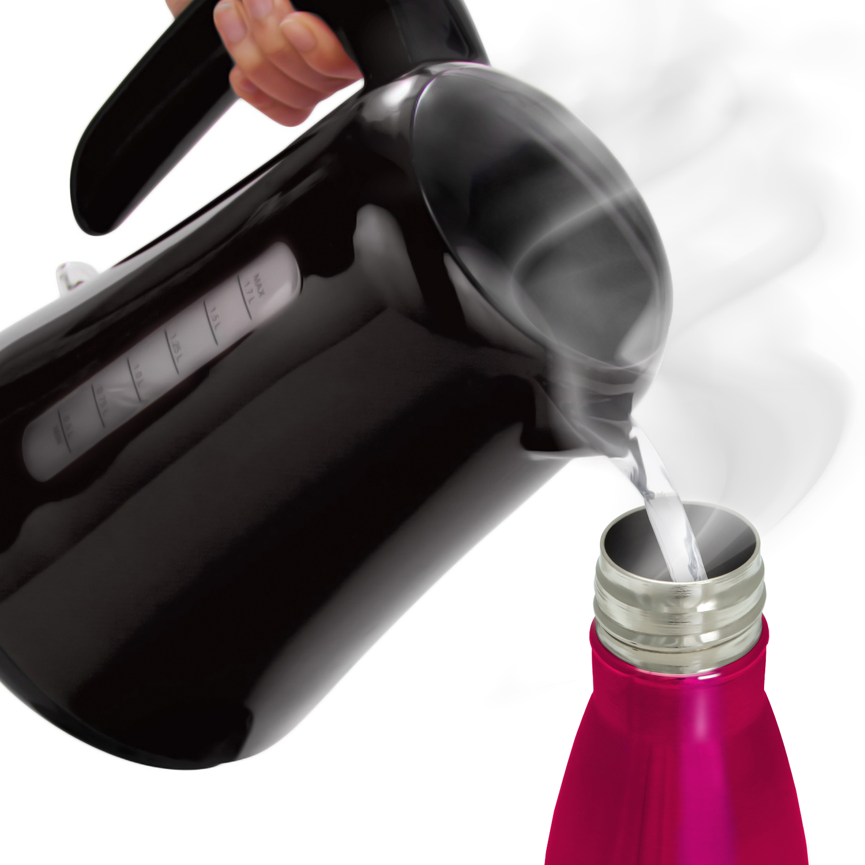 500ml pink thermo edelstahl wasserflasche thermosflasche trinkflasche fahrrad. Black Bedroom Furniture Sets. Home Design Ideas