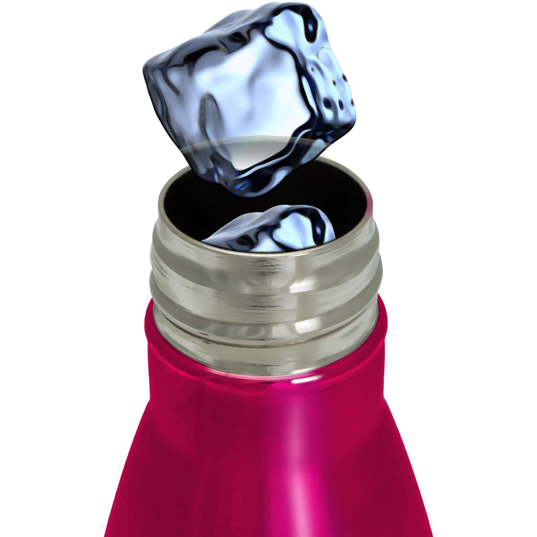 500ml pink thermo edelstahl wasserflasche thermosflasche trinkflasche fahrrad ebay. Black Bedroom Furniture Sets. Home Design Ideas
