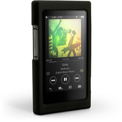 iGadgitz Silicone Skin Case Cover for Sony Walkman NW-A35 + Screen Protector Thumbnail 3