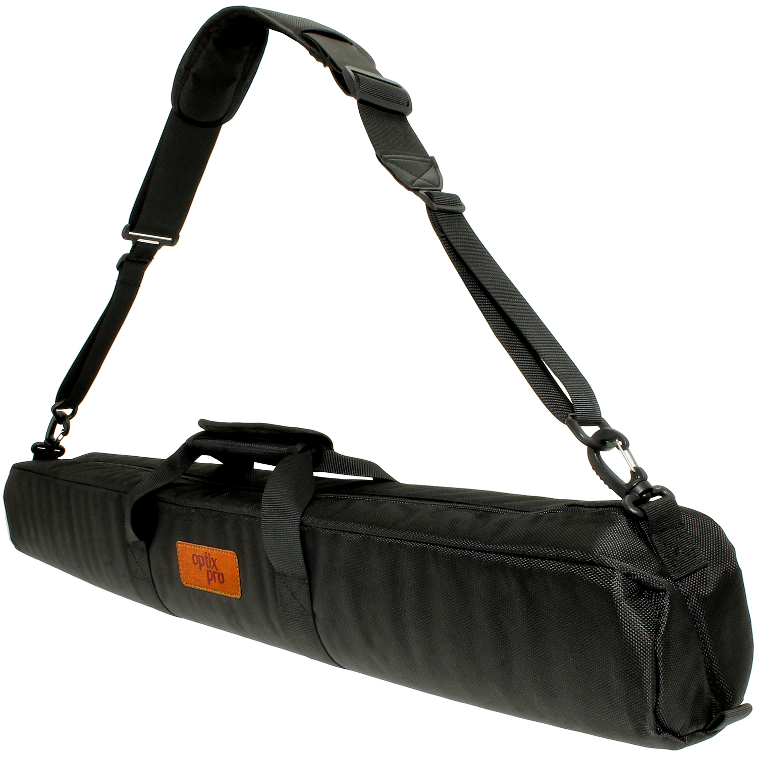 Optix Pro 80cm Padded Travel Carrying Bag with Shoulder Strap for Tripods - Black