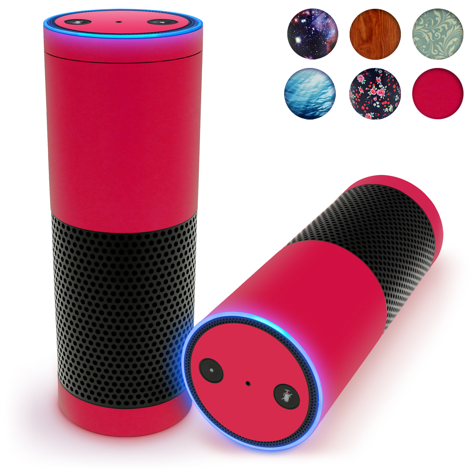 Print Protective Vinyl Skins Decal For Amazon Echo Sticker