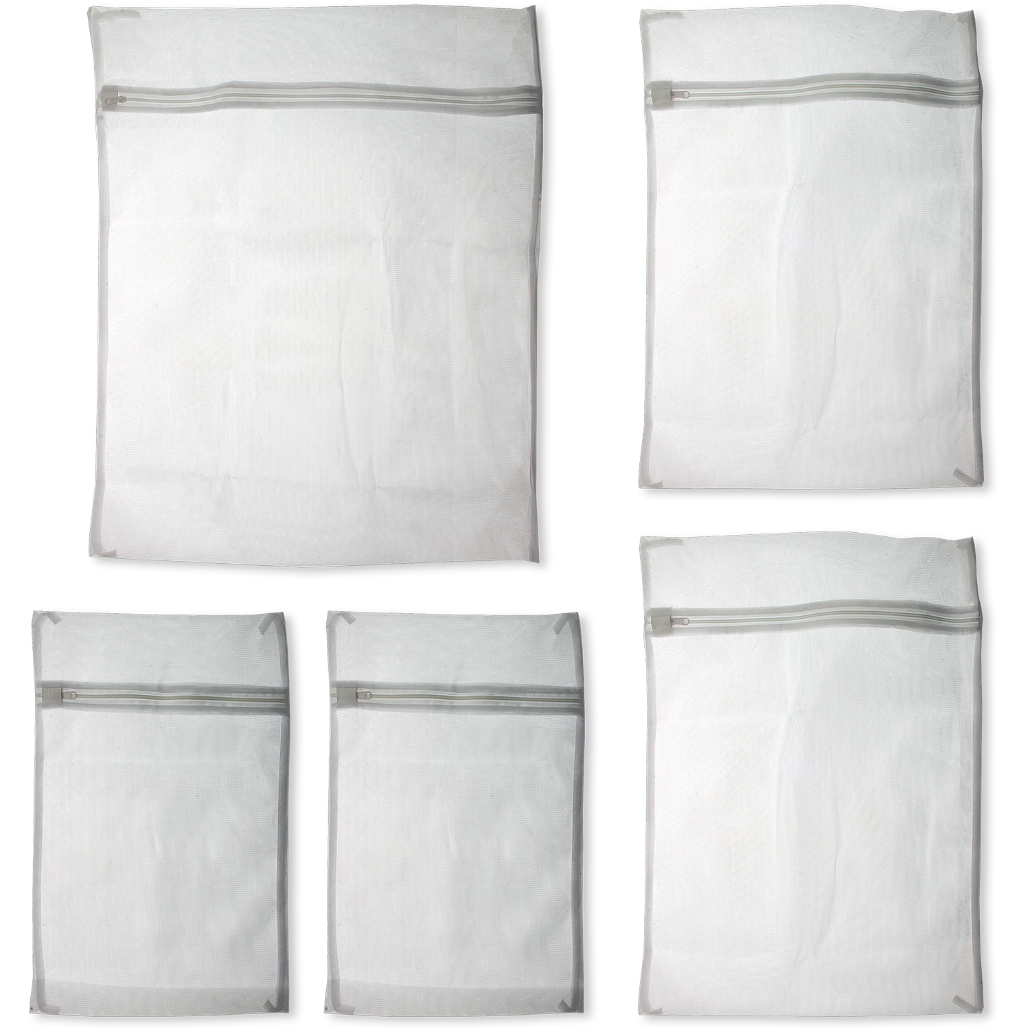 Zipped Mesh Laundry Bags Washing Net Wash Bags Underwear Clothes Socks Lingerie